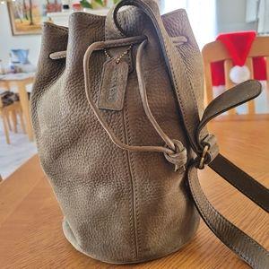Coach Sonoma Nubuck Bucket Bag (Olive)